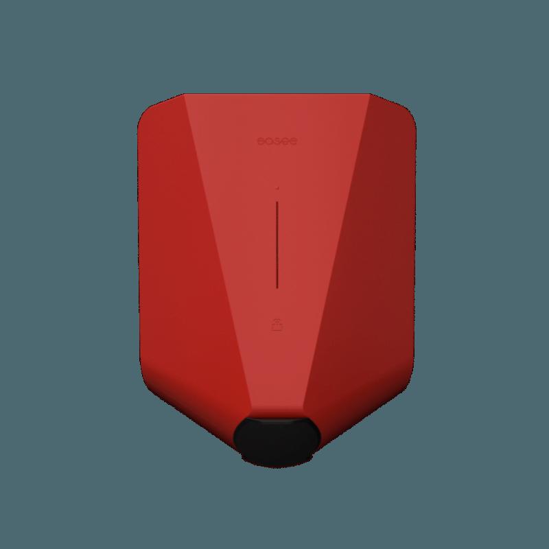 Cargador Easee rojo